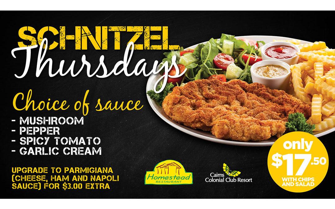 Schnitzel Thursdays